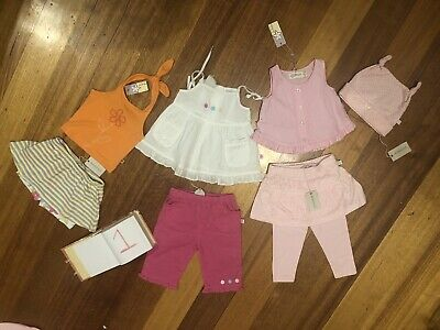 Size 0 Baby Girls Clothing Bundles