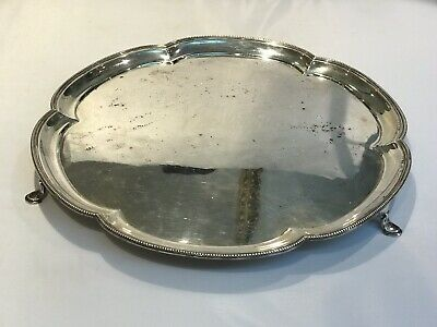 Solid Silver Small Tray 839g