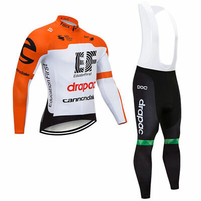XSU335 New Cycling Winter Thermal Fleece long sleeve jersey Bib Pants Kits
