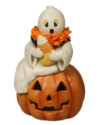 "Bethany Lowe Designs Halloween ""Candy Corn Ghost"" AUTHORIZED DEALER FREE SHIP"