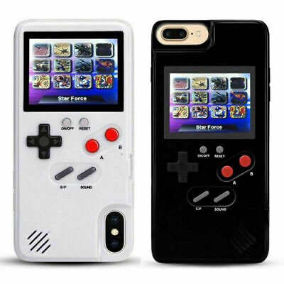Retro Color screen Game Play Tetris Phone Case For iPhone X XS 6s 7 8 Plus US