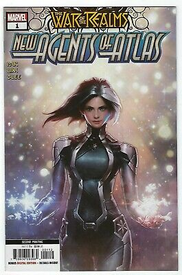 War Of Realms: New Agents Of Atlas # 1 Variant 2nd Print NM Marvel