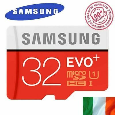 32 GB Micro SD Memory Card with Adapter Class 10th Micro TF Storage EVO Plus