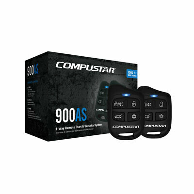 Compustar CS900-AS Remote Auto Car Start Starter & Alarm System & Keyless Entry