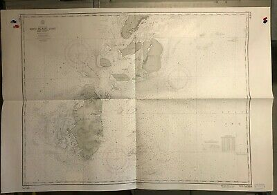 Philippines Islands Balabac Navigational Chart Hydrographic Map # 14326 Palawan