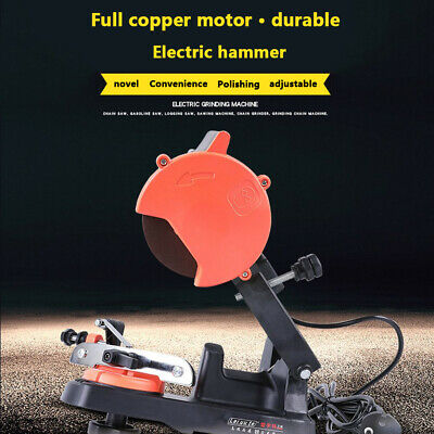 Professional 4800RPM Electric Chainsaw Chain Sharpener Grinder Power Tool Kits