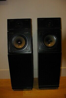 Naim SBL Loudspeakers in Black Ash Superb condition