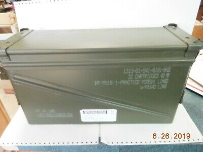 US Military Surplus 40mm PA-120 Large Ammo Can