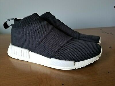 best service ab71a 2b35a ADIDAS ORIGINAL NMD PK City Sock Gore Tex Boost Shoes Black BY9405 Size 9.5  US