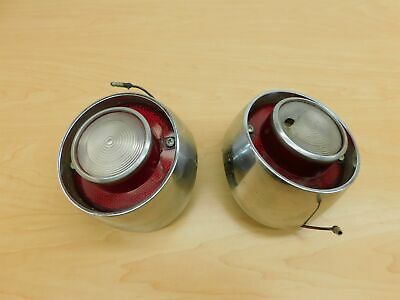reverse light / back-up taillight lamps red-white pair 1963 mercury 63mx2-