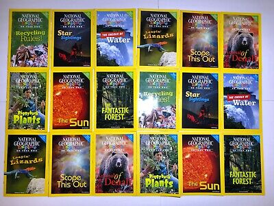Lot of 18 National Geographic Science Readers Grade 3 Level TEACHING SUPPLIES