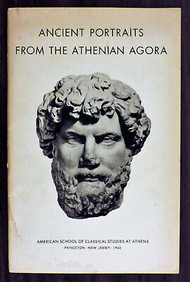 """ANCIENT PORTRAITS FROM THE ATHENIAN AGORA"" - Excavated Sculpture from 200 BC!"
