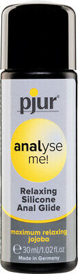 Pjur Analyse Me! Relaxing Anal Glide 30 ML, Anal Lubricant, Lubricant Gel