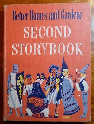 Better Homes & Gardens Second Storybook 1952 HC Illustrated Vintage Fairy Tales