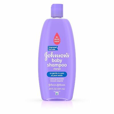 Johnson's Baby Shampoo With Calming Lavender For Shiny Hair, 20 Fl. Oz.