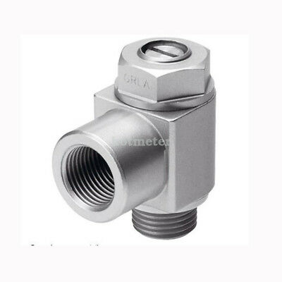 H● FESTO GRLA-1/2-B One-way Flow Control Valve 151179.