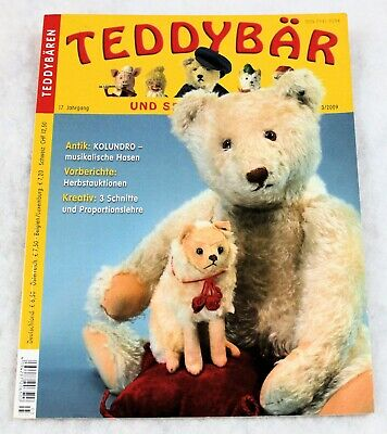 TEDDY BAR MAGAZINE VINTAGE - ISSUE 3/2009 - 74 PGS with 3 FABULOUS PATTERNS