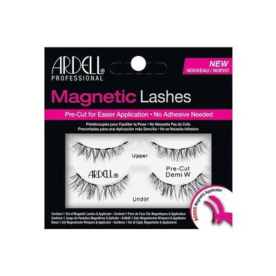 4ce7b48670a ARDELL Magnetic False Eyelashes PRE CUT DEMI W with Applicator Reusable  lashes