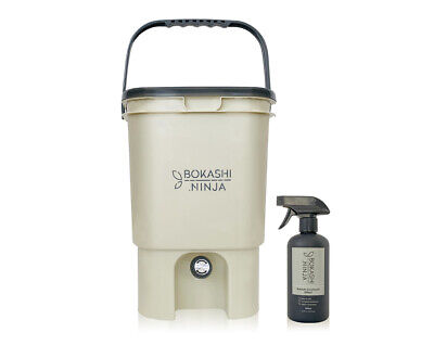 Bokashi Ninja 20L Bucket and Spray - in-kitchen benchtop composter