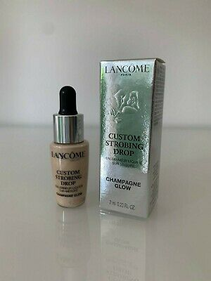 LANCOME Custom Strobing Drop - Liquid Highlighter Drops - Champagne Glow - 7ml
