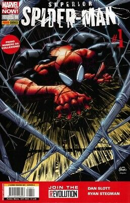 comics L' UOMO RAGNO Nr. 601 SUPERIOR SPIDER-MAN Nr. 1 A Ed. MARVEL NOW Panini