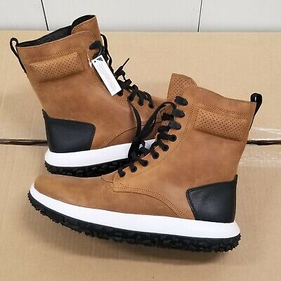 best authentic 7ef64 4a8e3 UNDER ARMOUR UAS RLT Fat Tire Sherpa Leather Brown Sugar Boots Men's Size  10.5