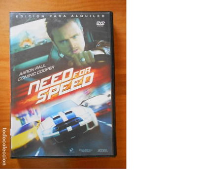 Dvd Need For Speed - Edicion De Alquiler (2M)