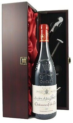 2012 Chateauneuf du Pape Bosquet des Papes in gift box with 4 wine accessories