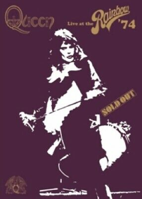 Queen Live at the Rainbow 74 (Freddie Mercury, Brian May) New Region 4 DVD