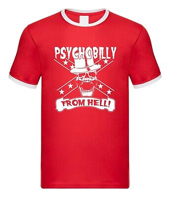 Psychobilly T-Shirt 100/% Rockabilly Reunion Party Homage Gift Rock /& Roll