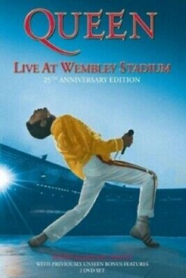 Queen Live at Wembley Stadium 25th Anniversary Edition New Region 4 DVD