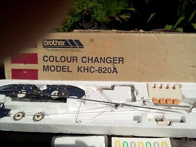 Brother single bed colour changer khc 820a good used condition