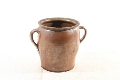 Old Pitcher Tone Ceramic Decorative Old Vintage Clay Jar