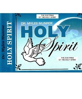 Doctrine of the Holy Spirit - 3 Dvds  - Dr. Myles Munroe - Economy Edition