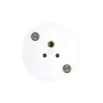 1 Gang 2 Amp Round Pin Unshuttered Socket 312WHI
