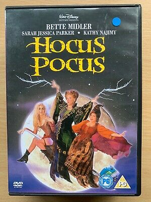 Hocus Pocus DVD 1993 Walt Disney Halloween Witches Comedy with Bette Midler BNIB