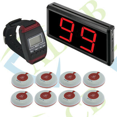 Wireless Nurse Call Care Home System With Panic Buttons And Wrist Pager Package