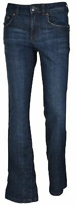 Womens Bootcut Jeans Denim Bootleg Fit Zip Fly Cotton Big And Tall Trouser Pants