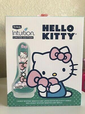 Schick Intuition Limited Edition Hello Kitty Razor Gift Set