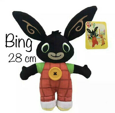 BING Peluche, Plush, Coniglio, Bunny, Giocattolo, Toy, Cartoon, BOTTONE, Button