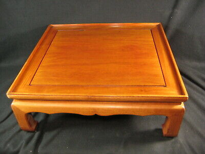 Vintage Chinese Rosewood Opium Bed Table Low Tea Table Bonsai