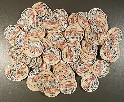 Vintage Caps, Nearly 300 pc's, Herpy's Dairy, Monona Dairy, W.H. Williams & More