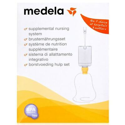 New Medela Baby Breastfeeding Supplemental Nutrition Nursing System Feeding
