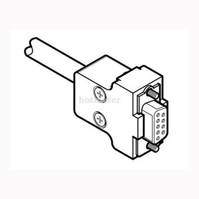 H● FESTO KMP6-09P-8-2,5 Connecting Cable 531184 IP40.