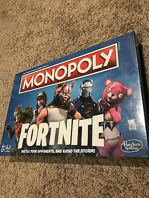 MONOPOLY Fortnite Edition Board Game Original