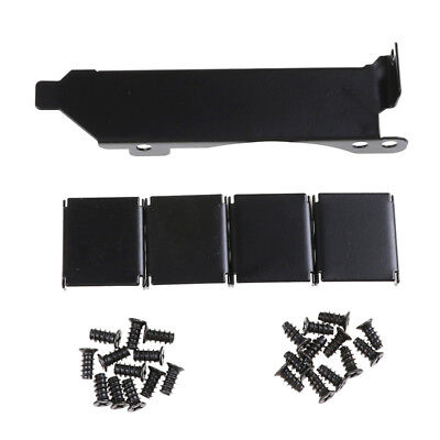 3Fans Mount Rack PCI Slot Bracket20 Screw4 Connector For Video GPU Card CoolerTP