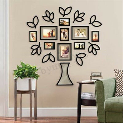 Family Tree Wall Art Picture Frame.Photo Frames Set Collage Family Tree Wall Art Collage
