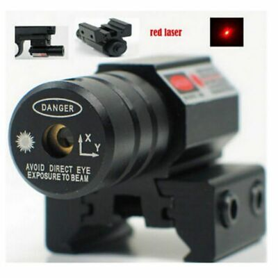 Red Tactical Laser Beam Dot Sight Scope for Gun Rifle Pistol Picatinny Mount AU