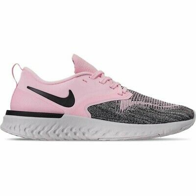 New Nike Odyssey React Flyknit 2 Running - women size 9 - Pink Black Rose