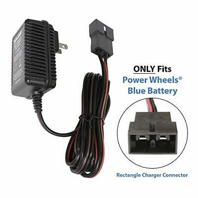 6-Volt Charger for Fisher-Price Power Wheels Blue Battery